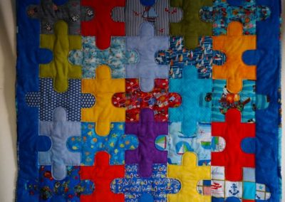 """Babydecke """"Maritim""""  ca. 115 x 115 cm"""