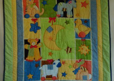 "Babydecke ""Mond"" ca. 108 x 130 cm"
