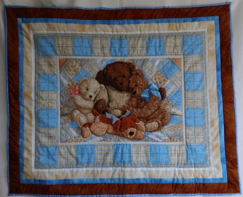 """Babydecke """"Bären"""" ca. 107 x 130 cm"""