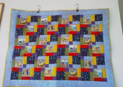 "Babydecke ""Strand""  ca. 75 x 100 cm"
