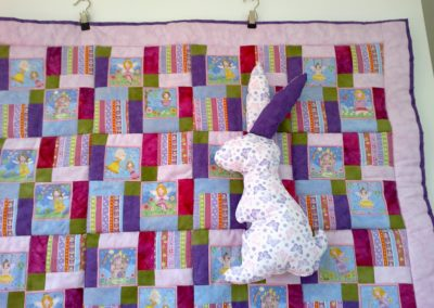 "Babydecke ""Prinzessin""  ca. 80 x 105 cm"