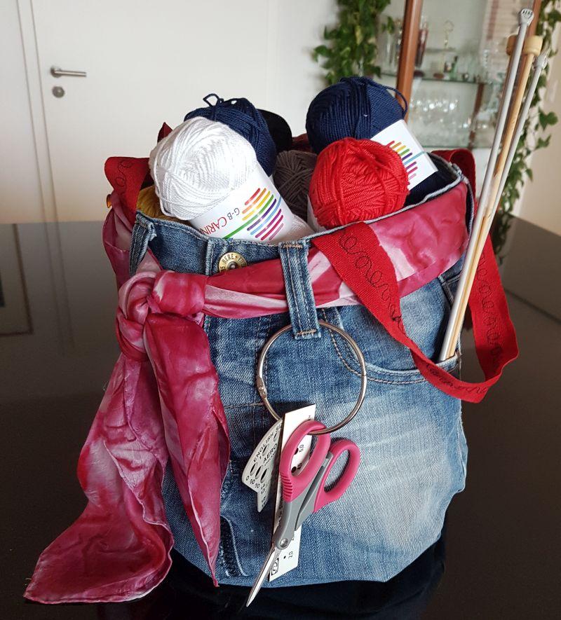 Jeansbeutel 25 €  Artikel-Nr. 30-002